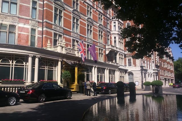 The Connaught Hotel - only for the rich
