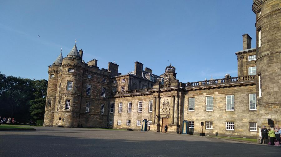 The Palace of Holyroodhouse, Edinburgh, Scotland