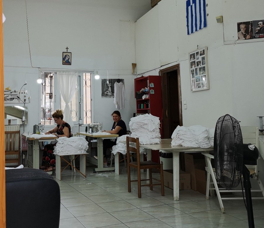 Sewing shop women