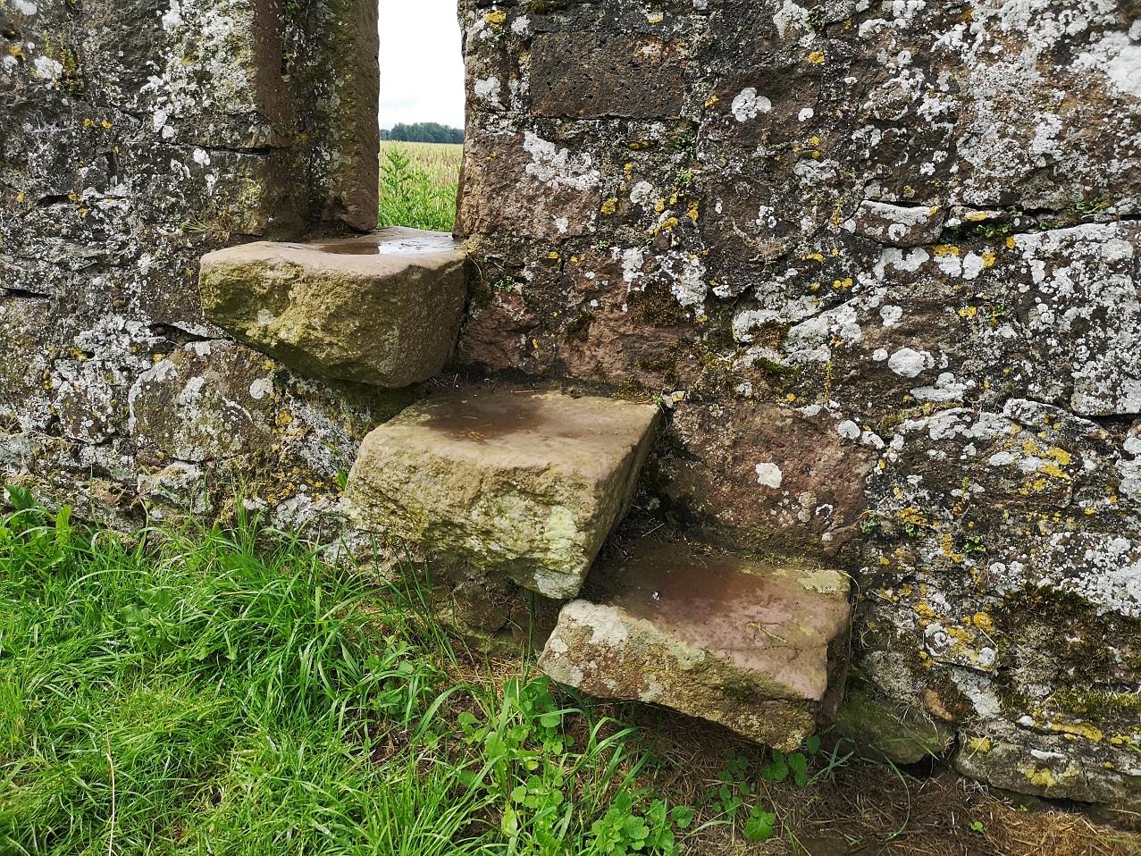 Landscape between the stones