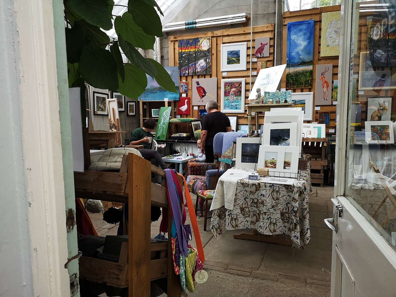 Paintings for sale in the gallery