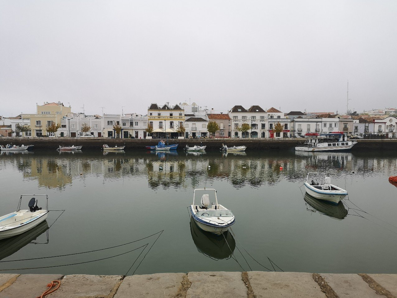 Tavira riverscape
