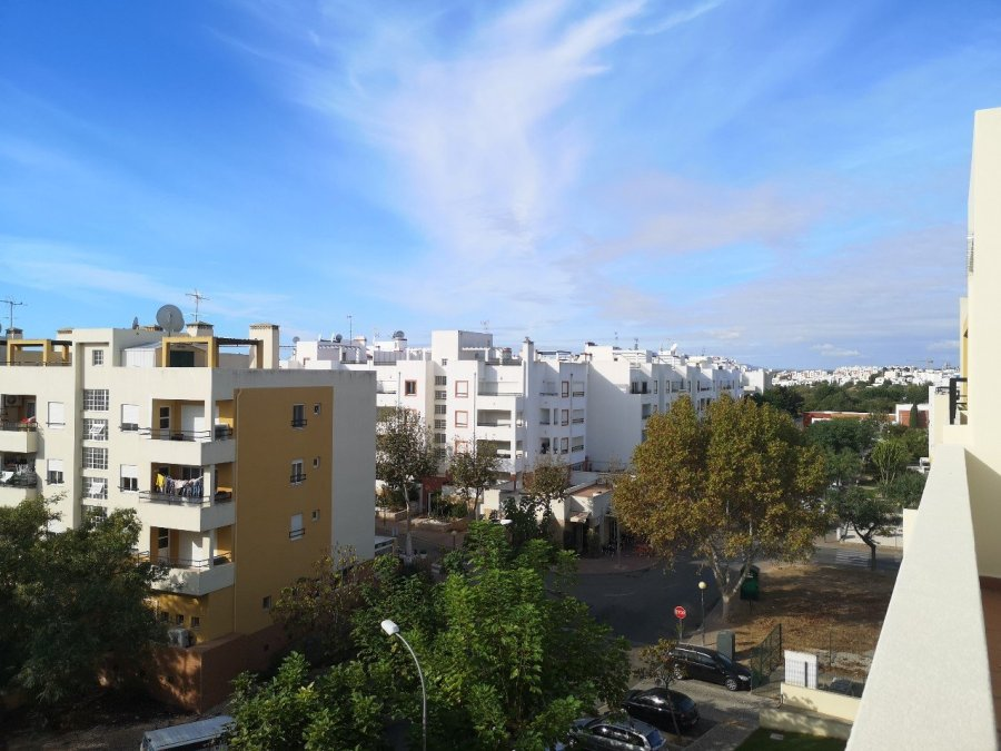 High rise apartments in Tavira, Portugal