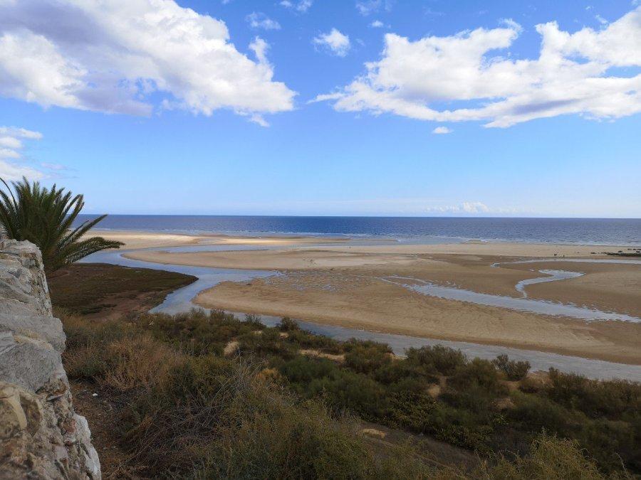 view of lagoon from Casela Velha