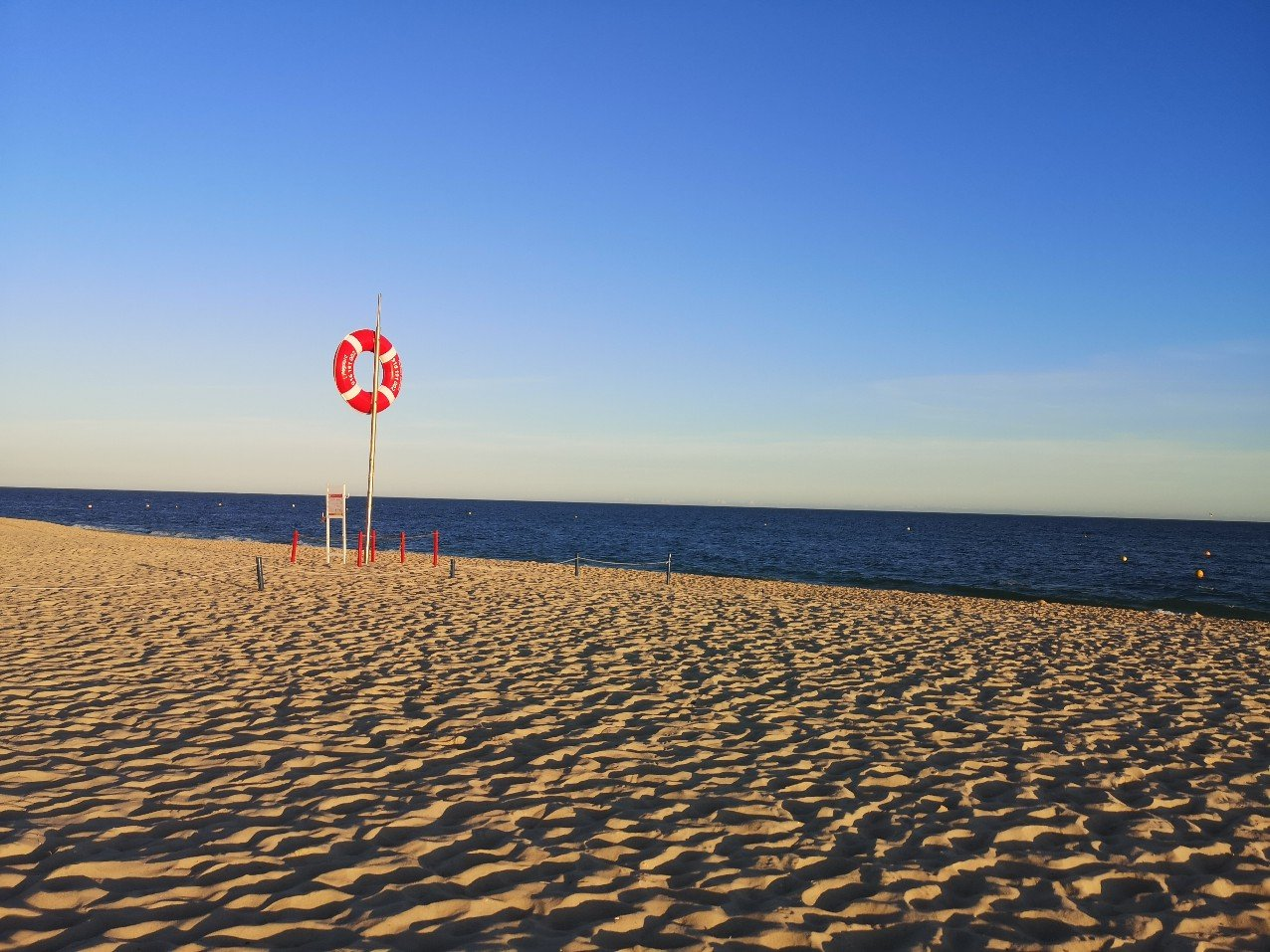Praia do Barril beach, Tavira, Portugal