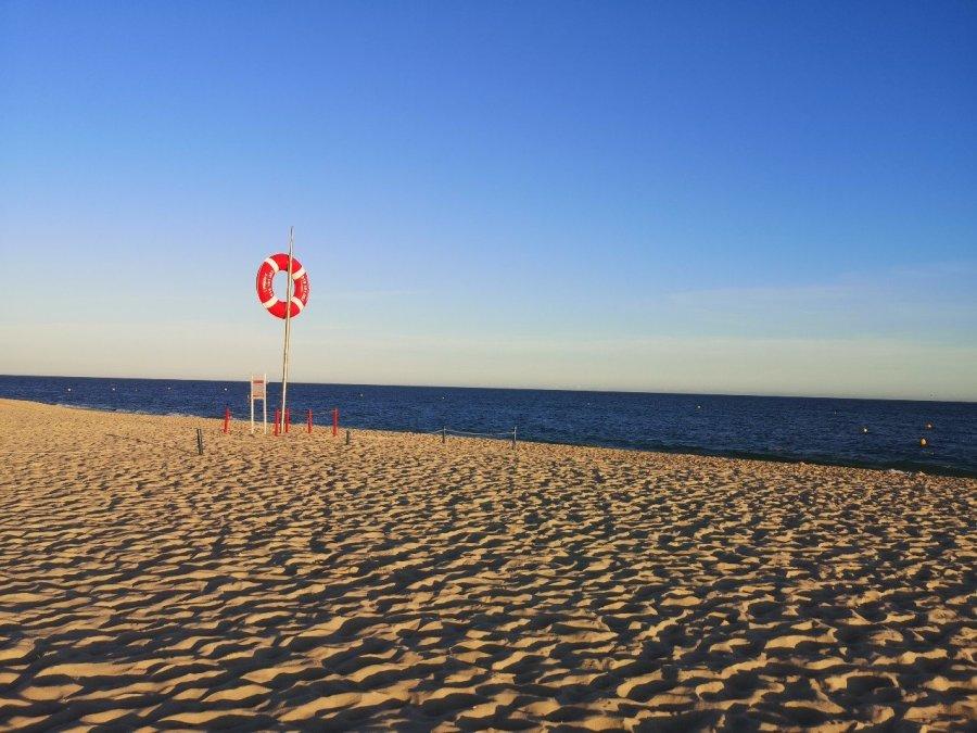 Praia do Barril beach, Tavira, Portugal