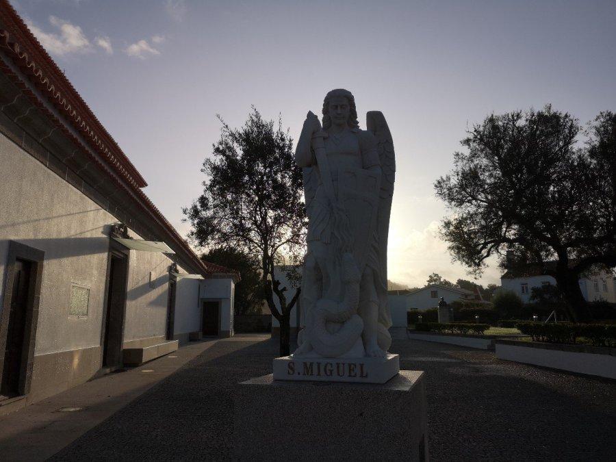 Sculpture Archangel Michael