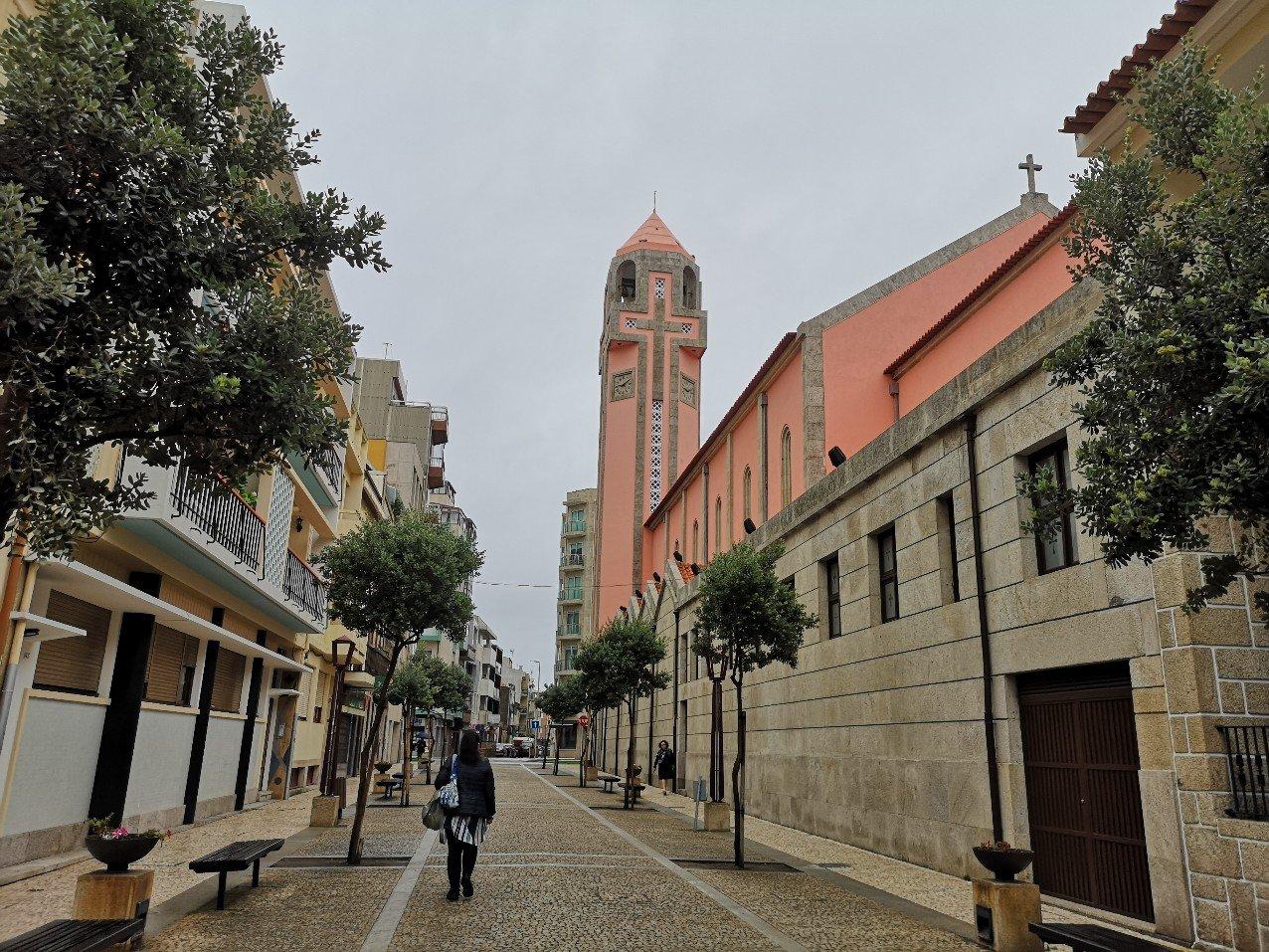 Portguese street scene