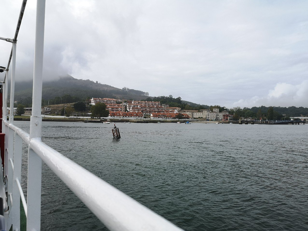 Spain from ferry