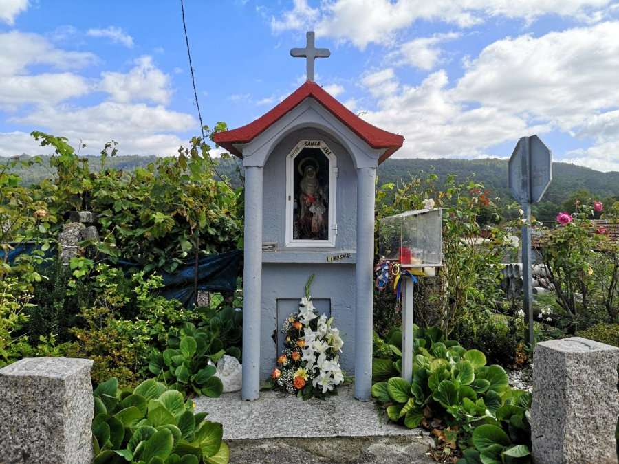 Catholic shrine by the road