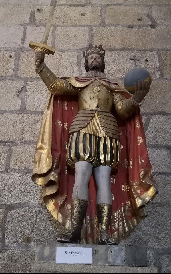 statue gold costume