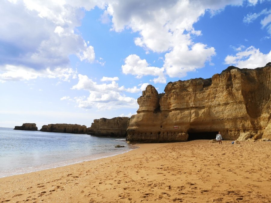 Impressive cliffs Algarve