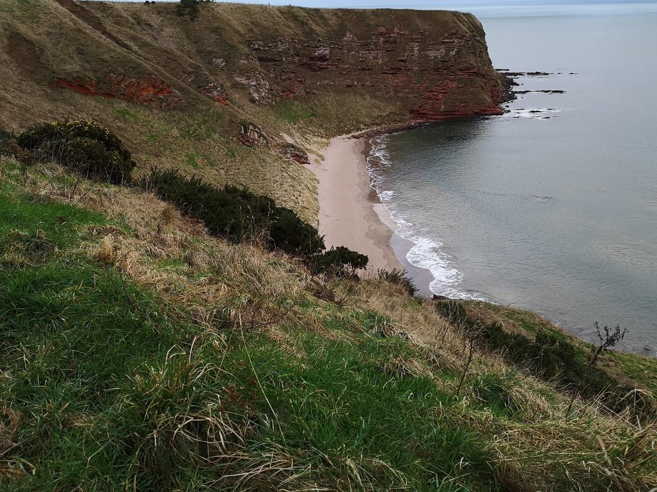 Beach cusps link to Coastal Wiki