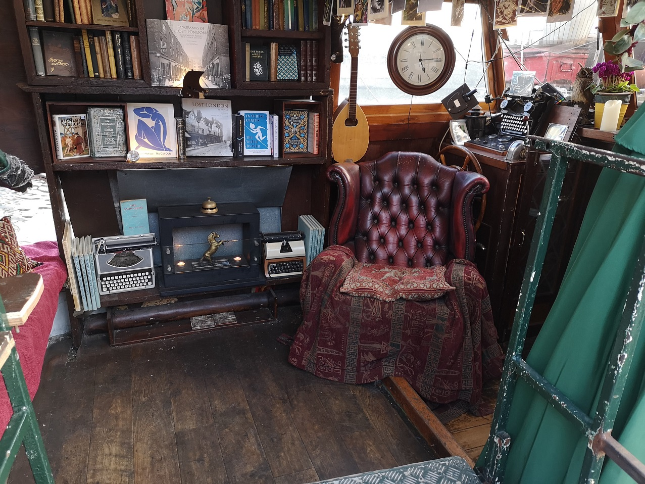 Boat Bookshop interior