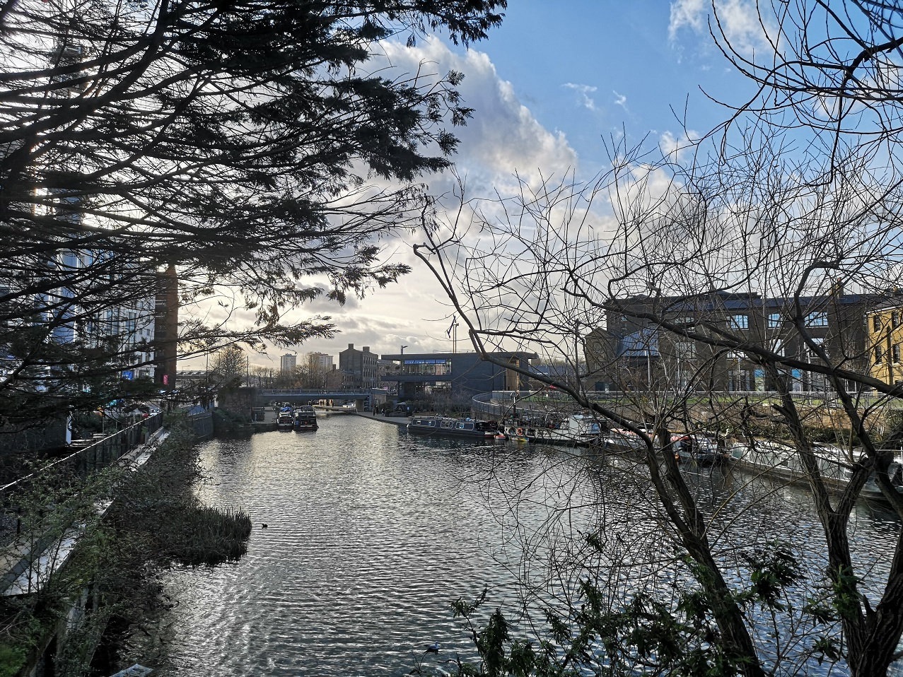 Regent's Canal from York Way