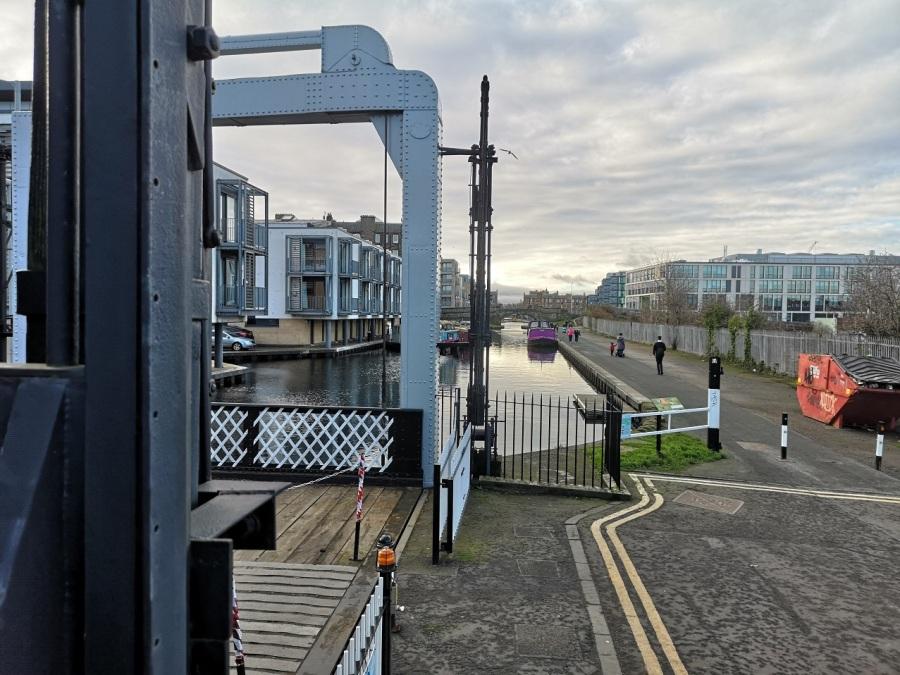 The Leamington Lock, Edinburgh
